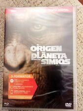 EL ORIGEN DEL PLANETA DE LOS SIMIOS  BLU-RAY + DVD + COPIA DIGITAL A ESTRENAR