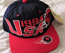 Vintage USA 1994 World Cup Snapback Hat Soccer Cap SUPER RARE with TAG FREE SHIP