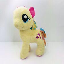 "My Little Pony Fluttershy 12"" Plush Butterflies Pink Yellow Stuffed Animal Toy"