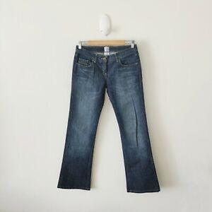 Sass & Bide Women's Dark Wash Denim Bootcut Jeans {Size 28}