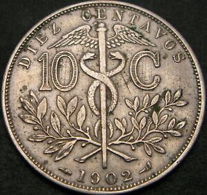 BOLIVIA 10 Centavos 1902 - VF - 1371 ¤