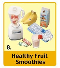 Re-Ment Mini Sweets, #8: Fruit Smoothies, 1:6 Barbie scale kitchen food minis