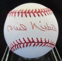 Phil Niekro Signed NL Baseball - PSA DNA