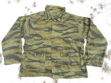 ORIGINAL VINTAGE 1970S USA made Vietnam War US SF TIGER STRIPE COAT JACKET BDU