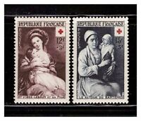 s23373) FRANCE 1953 MNH** Nuovi** Red Cross 2v Y&T 966/67