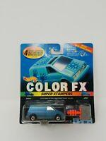 Vintage 1994 Mattel Hot Wheels Color FX Super Stampers Ford Aerostar Van on Card