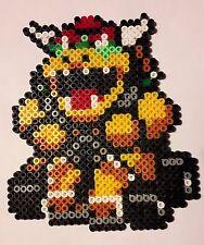 Bowser kart 2 (Mario) - Bead sprite perler pixel art - Perles à repasser