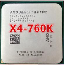AMD Athlon X4 760K 3.8GHz Quad Core Socket FM2 100W Processor