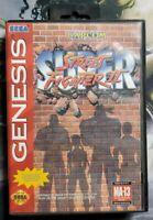 Super Street Fighter II (2) Sega Genesis Complete! CIB