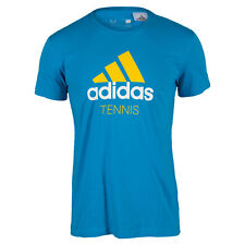 adidas Men's Tennis T Shirt Solar Blue S16833