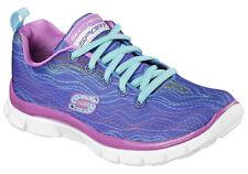 Girls Skechers Kids Skech Appeal Prancy Dance Blue Size 12 -NEW