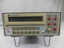 Hp 3478a Digital Multimeter With Cal Sticker 8222015 To 4242017 Tested