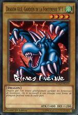Yu-Gi-Oh ! Dragon Ailé, Gardien de la Forteresse N°1 YGLD-FRA10 (YGLD-ENA10) VF