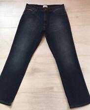 Wrangler Texas Mens Blue Faded Straight Leg Jeans Waist 34 Leg 32 W34 L32