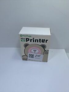 Peripage Portable Mini A6 Pocket Label Sticker Receipt Photo Printer Pink