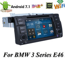 For BMW E46 M3 Car GPS Navigation Radio Stereo Android 7.1 HD Touch Screen DVD B