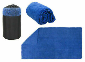Microfibre Towel Quick Dry Travel Large Bath Camping Sports Beach Gym Large