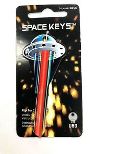 Key Blank Flying Saucer / UFO Shaped Key U5D/U6D SPACE KEYS™