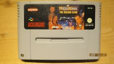 WWF Wrestlemania the Arcade Game for SNES Super Nintendo. Cart Only. Pal.