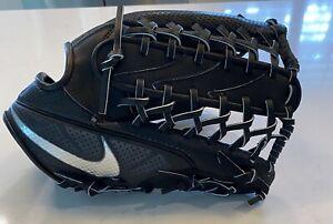 NEW Nike BSBL Hyperfuse Elite Pro MVP 12.50 LHT Black Baseball Glove PBF309 010