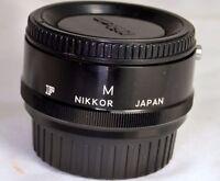 Nikon Macro Extension tube M F for Photomic FTn Ft F2 cameras Micro genuine