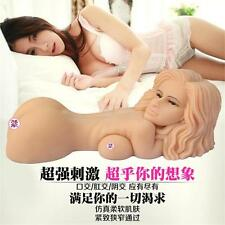 Soft Male Masturbators 3D Realistic Pussy Real Silicone Sex Toys For Men Dolls
