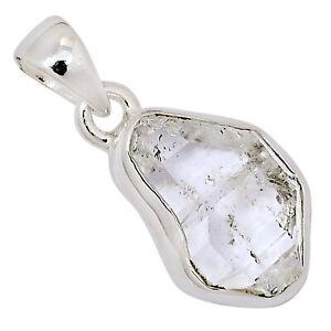 Herkimer Diamond 925 Sterling Silver Pendant Jewelry ALLP-64