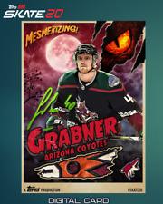 19-20 HALLOWEEN MONSTER SIGNATURE RELIC MICHAEL GRABNER Topps NHL Skate Digital