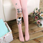 New Kids Toddlers Skinny Pants Cartoon Girl Stretch Trousers Leggings Size 2-12Y
