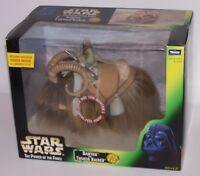 Star Wars Bantha and Tusken Raider Action Figure w/Gaderffii Stick Kenner 98 NIB