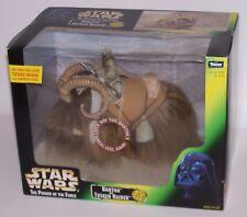 Star Wars Bantha and Tusken Raider Action Figure w/Gaderffii Stick Kenner 98 NIB