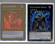 Yugioh Cards - Super Rare Holo - Steelswarm Roach CT09-EN021 Limited Edition