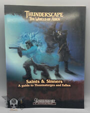 Pathfinder Compatible - Saints & Sinners A guide to Thaumaturges and Fallen