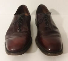 Allen Edmonds  Oxfords Size 11 Burgundy Color   made in USA