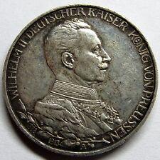 - ALLEMAGNE - Prusse - 3 Mark - 1913 A