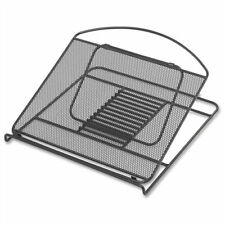 Safco Onyx Mesh Laptop Stand - Steel - Black (2161BL)