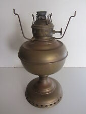 "Antique BRASS LAMP BASE ""Miller Vestal Made in USA"" - 26.5cm Tall"