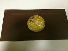 Medallic History of Mankind, limited first edition proof. Franklin mint. (S10)