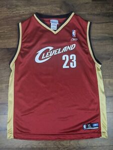 Reebok Cleveland Cavaliers LeBron James Jersey Size X-Large