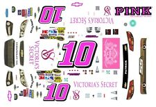 #10 Danica Patrick Victoria's Secret 2013 Chevy SS 1/43rd Scale Slot Car Decals