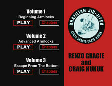 Renzo Gracie Jiu-Jitsu Instructional DVD Series New!