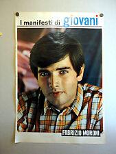 I MANIFESTI DI GIOVANI - Poster Vintage - FABRIZIO MORONI - 73x50 Cm [60]