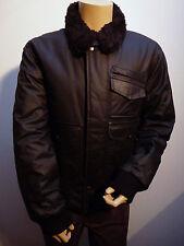 J C Rags Padded Black Zip Up Coat  Jacket    Large    BNWT