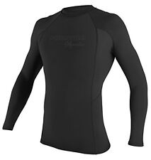 Phantom Aquatics Men's UV Protection Long Sleeve Rash Guard Black XX-Large, New