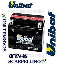 BATTERIA UNIBAT CBTX7A-BS PER HONDA TR FAT CAT 200 cc DAL 1987-BATTERY- YTX7A-BS