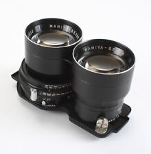 135MM 135/4.5 MAMIYA-SEKOR FOR TLR (STRONG HAZE/DEPOSITS), BAD M-SYNC/197827