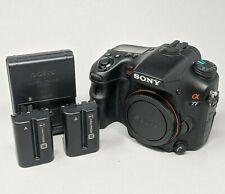 Sony Alpha A77 24.3MP Digital SLR Camera Body SLT-A77V - 14K Clicks