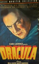 Dracula VHS 1999 RARE Classic Monster Collection Tested Bela Lugosi Hard Case
