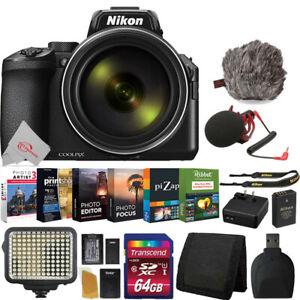 Nikon Coolpix P950 16MP 4K HD Video Top Vlogging Bridge Camera Vloggers Best Kit