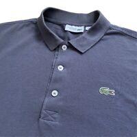 Vintage LACOSTE Sport Polo Shirt | Size 4 | Medium M | Grey 00s Short Sleeve